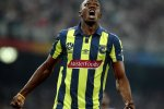 Usain Bolt in Central Coast Mariners jersey