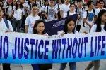Filipino Catholics Protest Duterte's War on Drugs