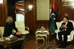 EU's Mogherini Visits Libya  to Reopen Bloc's Mission