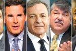 Elon Musk, Kevin Plank, Bob Iger, Richard Trumka, Kenneth Carleton Frazier