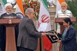 A major deal signed between the two sides on Saturday was a lease agreement for the Shahid Beheshti Port at Chabahar.