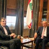 Jaberi Ansari Confers With Lebanese Leaders