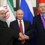 Three-Way Summit on Syria in April