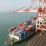 An overview of Shahid Rajaee Port, Iran's biggest container terminal in the south of the country