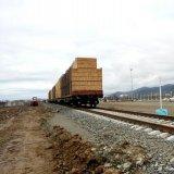 2nd Cargo Train Arrives in Astara from Russia