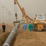 A large proportion of equipment to expand national gas grid has been supplied by domestic producers.