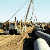 The under-construction Peace Pipeline is aimed at delivering natural gas from Iran to Pakistan.
