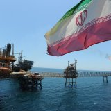 About 1.8 million barrels of Iran's oil output are exported.