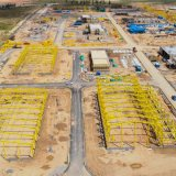 Masjed Soleyman petrochemical project's Phase 1 construction site