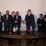 Iran and Russia have agreed to collaborate in international energy projects.