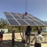 Four solar plants, with a total capacity of 33.5 MW, have come on stream in Yazd Province.