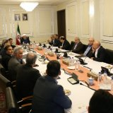 President Hassan Rouhani met with top private sector figures on April 26.