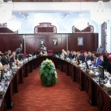 The Bulgarian economic delegation met Iranian officials  in Tehran on May 13.