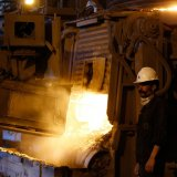 Iran is currently the world's 11th biggest producer of steel.