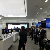 A Samsung sales center in Tehran