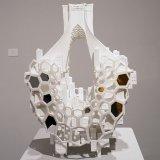 Sabri's White Sculptures  on Display