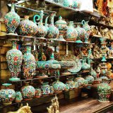 In last year's event, Gilan Province had the largest number of handicraft shops.