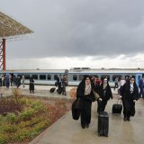 Hamedan Tourist Train Hits the Tracks