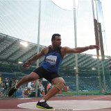 The Iranian thrower has collected one gold and two bronze medals in the current season.