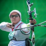 Zahra Nemati Named Para Woman Archer of Year