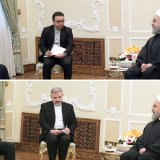 Spanish Foreign Minister Alfonso Dastis met with President Hassan Rouhani on Feb, 21.
