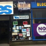 Business Row Marks Scotland Weekend Campaign