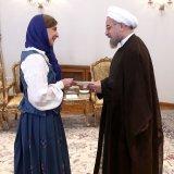 Rouhani  Receives  New EU  Ambassadors