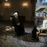 Rouhani Blasts Anti-IS Coalition