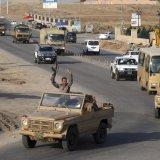 Peshmerga Fighters Enter Kobane