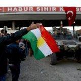 Peshmerga Bound for Kobane Arrive in Turkey