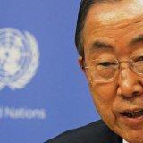 Ban Ki-moon Condemns Ukraine Rebel Offensive