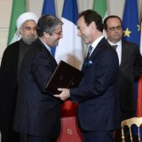 Deals of Up to €40b Fruit of Rouhani's France Visit