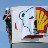 Activists Leave Shell Oil Rig