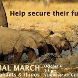 Global March Against Elephant, Rhino Extinction