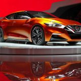All New Maxima Model Displayed in US