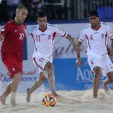 Iranian Beach Footballer  in 'Team of the Tournament'