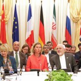 Representatives from Iran and the remaining five signatories of the nuclear deal in Vienna on Friday.