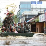 Kerala has been reeling under murderous monsoon, which has claimed 324 lives.