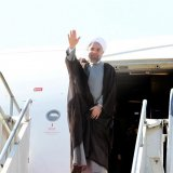 Rouhani Due in India