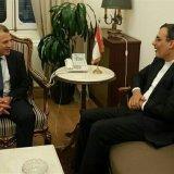 Deputy FM Meets Lebanese Officials