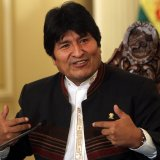 Morales Receives Message from Rouhani