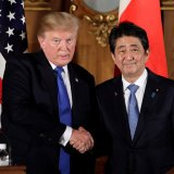Trump Tells Japan PM to Buy 'Massive Amounts' of US Weapons