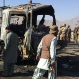 Truck Explosion Kills Seven  in Pakistan