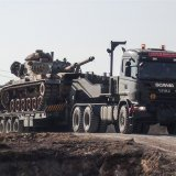 The apparent ground assault comes a day after Turkey launched an air assault against the Syrian-Kurdish YPG militia.