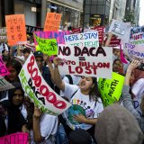Nearly 700,000 young people, known as Dreamers, were protected from deportation and allowed to work legally under the DACA program as of September 2017.