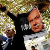 Israeli Protesters Urge Netanyahu  to Step Down Over Bribery Charges