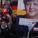 Merkel: Anti-Immigration 'Rowdies' Disrupting Election
