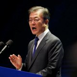 S. Korea's Moon Willing to Meet Kim Jong Un Under Right Conditions