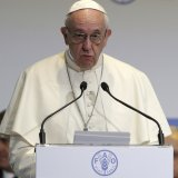Pope at UN Demands Response to Hunger, Climate, Migration