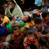 Bangladesh said it was now limiting the movement of more than 400,000 Rohingya who have fled from Myanmar.